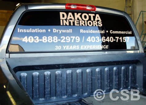 Window Decals For Trucks by Truck Decals Calgary Ab Stickers For Trucks Printing