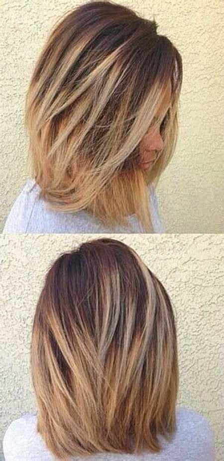 balayage on medium length hair 25 new medium balayage shoulder length hair styles 2017
