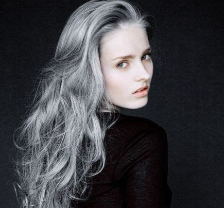 crown perm for gray hair 57 best crown of glory white gray hair images on