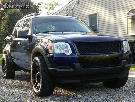 ford sport trac wheel offset 2007 ford explorer sport trac aggressive 1