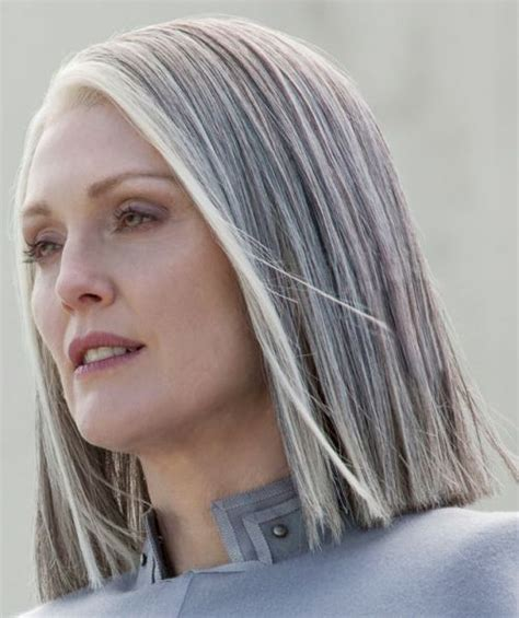 hairstyles for slightly grey highlighted hair salt and pepper gray hair grey hair silver hair white