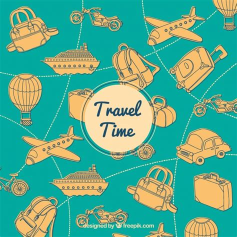 imagenes vintage viajes vintage travel background vector free download