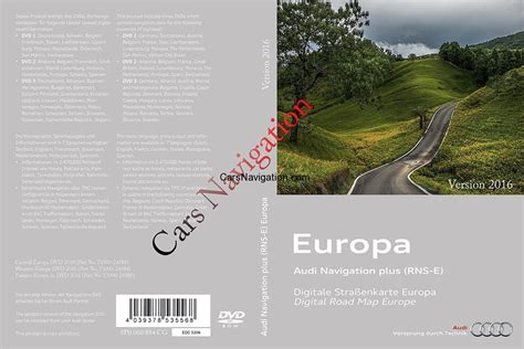 Audi Navigation Plus Rns E Download by Audi A3a4a6 Western Central Europe Dvd1 20172017 Rns E