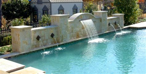 decorative water fountain ave designs pools