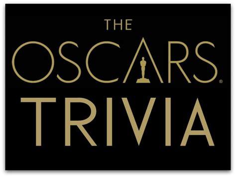 oscar film quiz questions 8 more bits of oscar movie trivia
