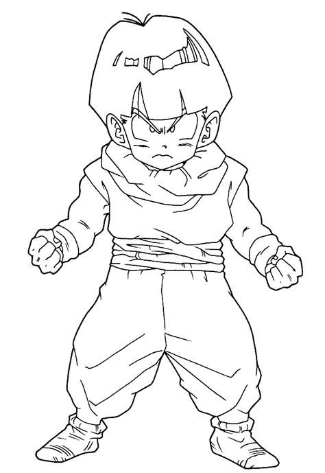 Gohan Coloring Pages Coloring Home Gohan Coloring Pages