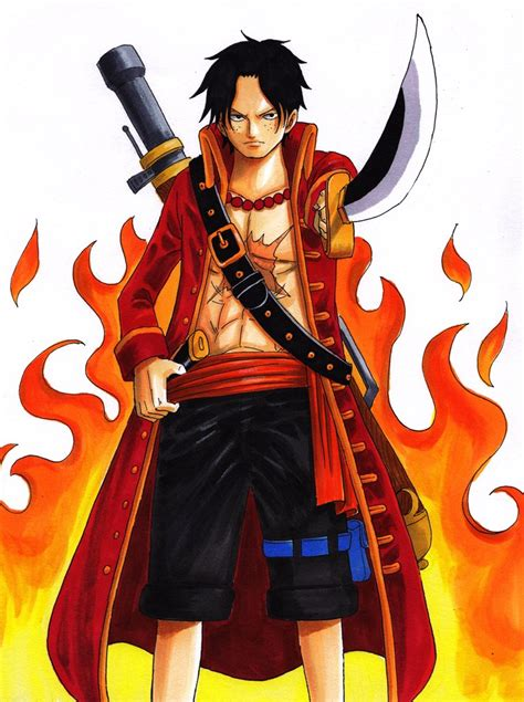 portgas d ace one piece image 1387969 zerochan