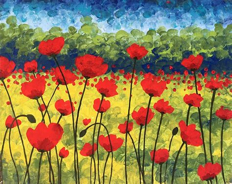 paint nite kanata paint nite poppy field