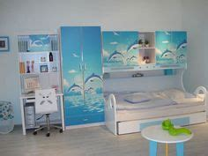 Dolphin Bedroom Decor by Surf Bedroom To Much With The Walls But The Bedding