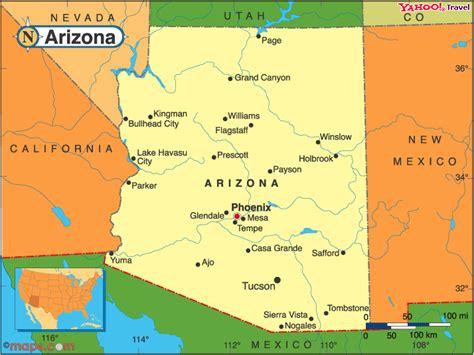 where is arizona on the arizona map mrs cady arizona