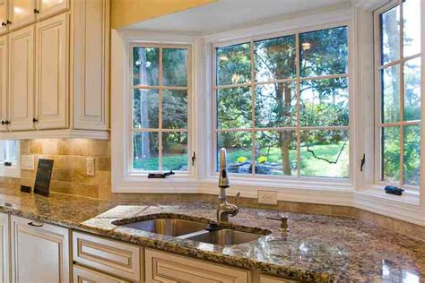 ideas for kitchen windows kitchen bay window ideas decor ideasdecor ideas