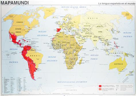 speaking countries map world map highlighting speaking countries maps
