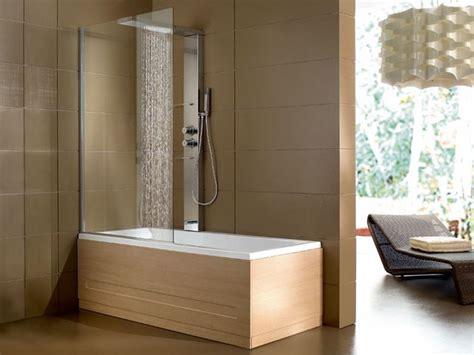 vasche da bagno piccole con doccia vasca e doccia in un unica soluzione vasche da bagno