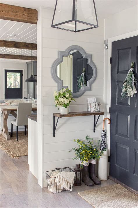 small corner for entryway spring home tour a giveaway small entryways foyers