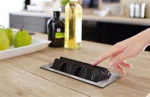prise electrique design cuisine prise electrique plan de travail cuisine wasuk