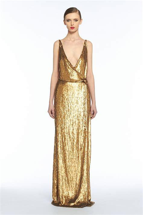 On Dresses Shiny Stunners by Stunning Molten Metallic Dress By Diane Furstenberg