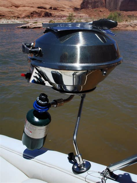 magma boat gas grill the project table our new marine magma grill
