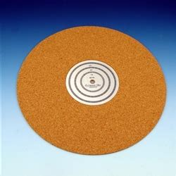 10 Inch Turntable Mat - sleeve city cork turntable mat