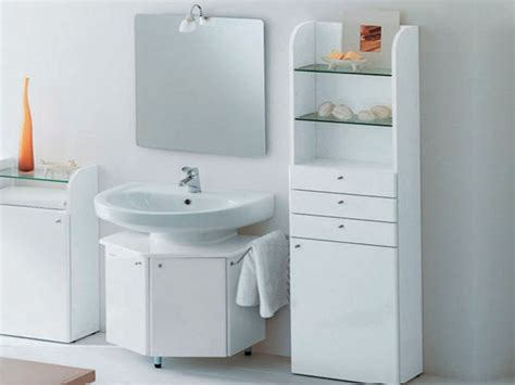 Small White Bathroom Cabinet Interior Design Free The