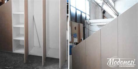 armadio su misura mansarda arredi su misura per mansarda falegnameria modonesi
