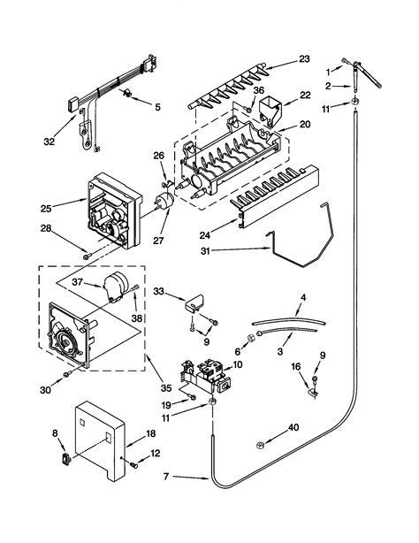 kenmore elite refrigerator ice fan kenmore refrigerator ice maker wiring diagram circuit