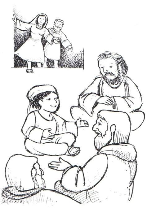 jesus in the temple at 12 coloring page finding in the temple finding jesus in the temple