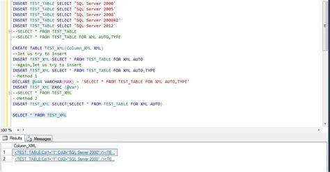 xml tutorial in sql server 2008 all about sqlserver sql server xml error quot the for
