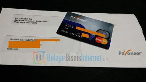 tutorial hack kartu atm langkah demi langkah cara membuat account payoneer gratis
