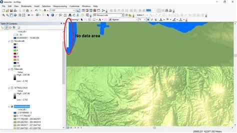layout view not working arcgis arcgis desktop hillshade effect not working when no data