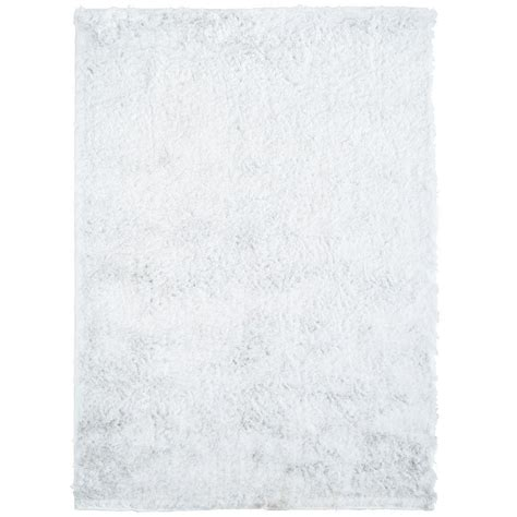 so silky rug home decorators collection so silky white 2 ft x 4 ft area rug silky2x4w the home depot