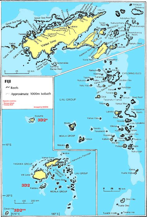 fiji islands map fiji islands map see map details from www 3d2 dxer ua