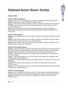 National Honors Society Essays by Handbook