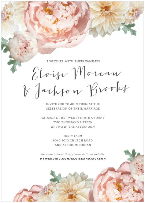 peony design invitation jakarta invitation blush peony alisa bobzien wedding