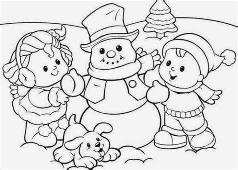 Coloring Pages Winter Coloring Pages And Clip Art Free Coloring Pages Of Winter