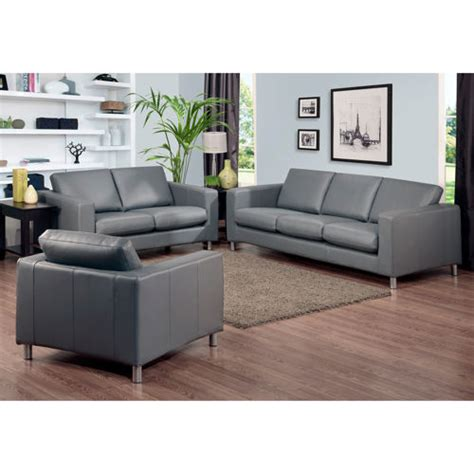 Grey Leather Sofa And Loveseat Always Suitable Grey Leather Sofa Ideas Interior Design Sofaideas Net