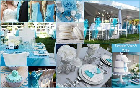 turquoise white silver wedding inspiration a n inspiration