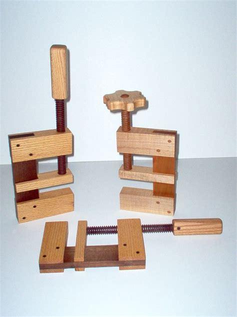 wooden  clamps   work     metal
