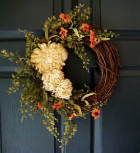 splendid fall wreaths door decoration ideas and