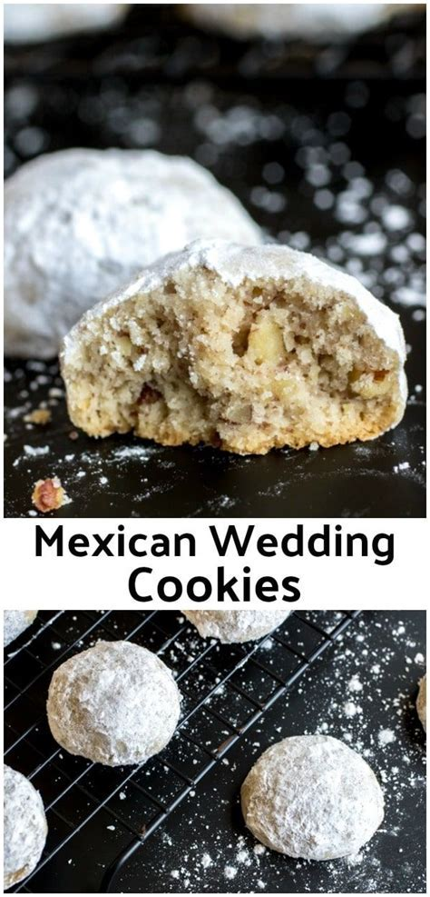 These are the BEST Mexican Wedding Cookies ! This is an