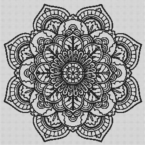 cross mandala coloring pages mandala cross stitch mandala wall art cross stitch