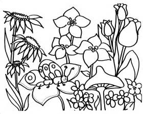 garden coloring pages for az coloring pages