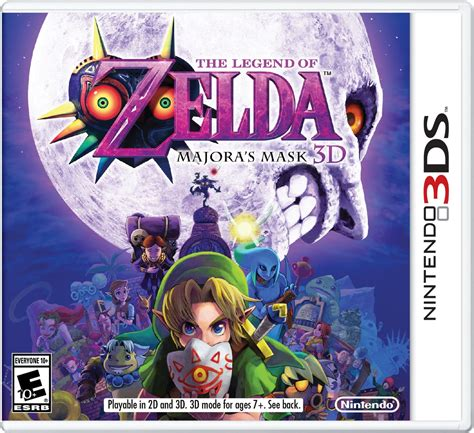 Kaset 3ds The Legend Of Majora S Mask 3d The Legend Of Majora S Mask 3d 3ds Rom Portalroms