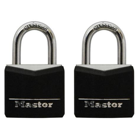 Master Lock 3 master lock 3 4 in vinyl covered solid padlock 2
