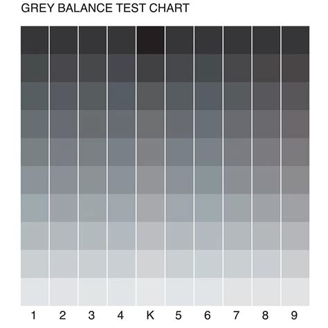 Shades Of Grey Color Chart | her art feltwords
