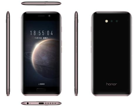 honor magic smartphone mit rand aber ohne android appdated