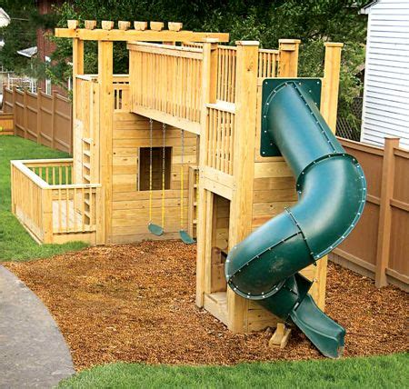 backyard play structure plans baby proofing your home s outdoor space