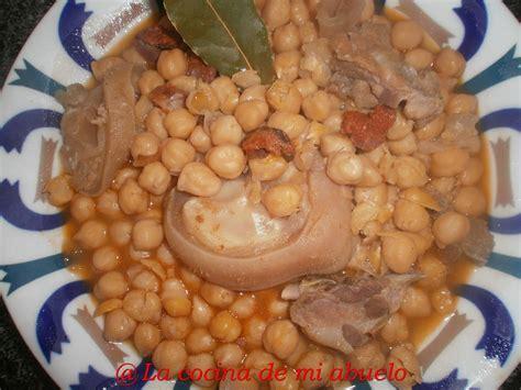 cocina callos la cocina de mi abuelo callos recetas gallegas