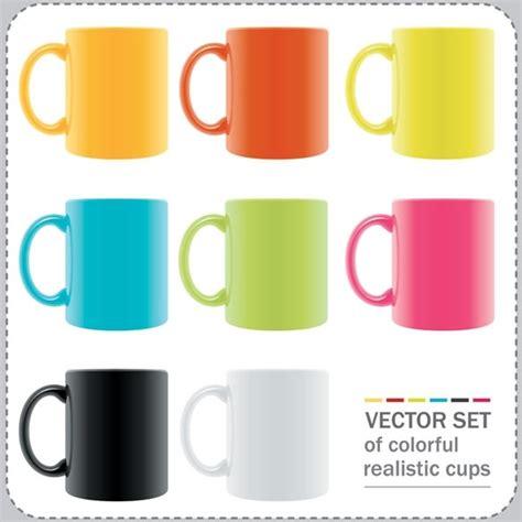 mug design in vector vector colorful mug free vector in encapsulated postscript