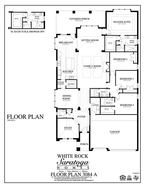 plan 3084 a saratoga homes killeen
