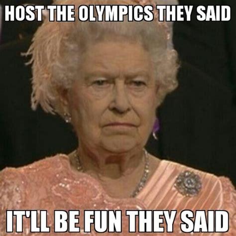 Queen Elizabeth Meme - queen elizabeth ii at the olympics meme